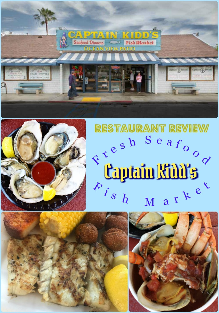 Review captain kidd 39 s fish market tweet eat travel for Oceanside fish market